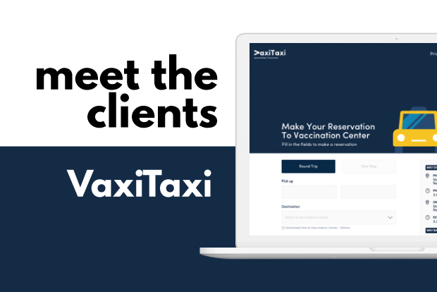 Meet the Clients: VaxiTaxi